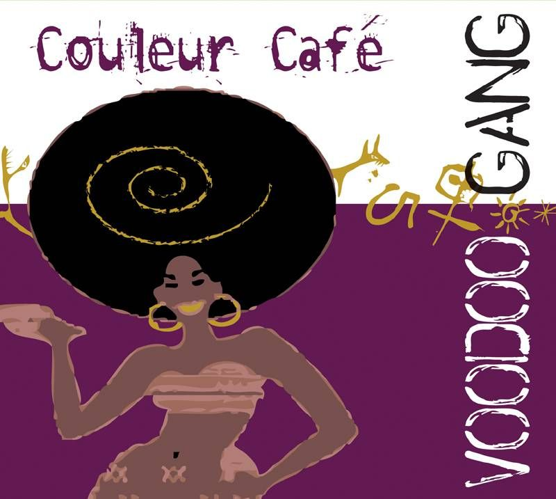 voodoo gang couleur cafe